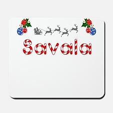 Savala, Christmas Mousepad