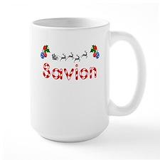 Savion, Christmas Ceramic Mugs