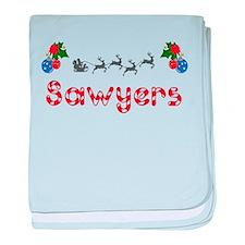 Sawyers, Christmas baby blanket