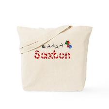 Saxton, Christmas Tote Bag