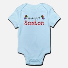 Saxton, Christmas Infant Bodysuit