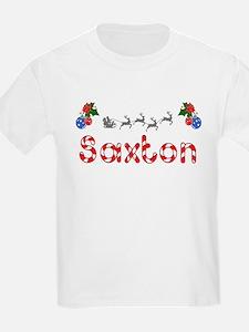 Saxton, Christmas T-Shirt