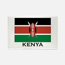 Kenya Flag Merchandise Rectangle Magnet