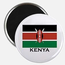 Kenya Flag Merchandise Magnet