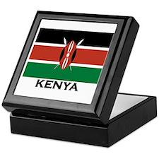 Kenya Flag Merchandise Keepsake Box