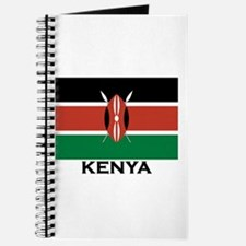 Kenya Flag Merchandise Journal