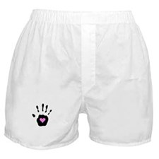 Heart in Hand Boxer Shorts