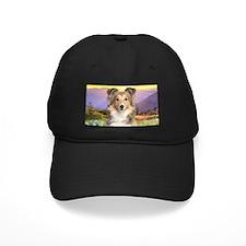 Sheltie Meadow Baseball Hat