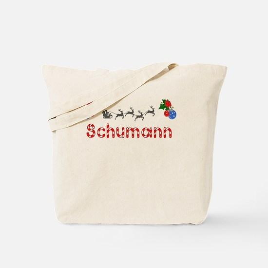 Schumann, Christmas Tote Bag