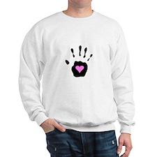 Heart in Hand Sweatshirt