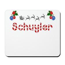 Schuyler, Christmas Mousepad
