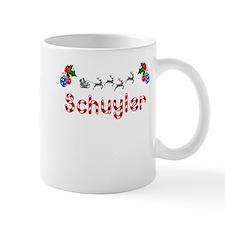 Schuyler, Christmas Small Mug