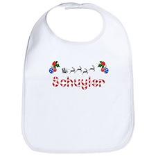 Schuyler, Christmas Bib