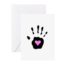Heart in Hand Greeting Cards (Pk of 10)