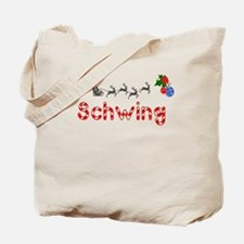 Schwing, Christmas Tote Bag
