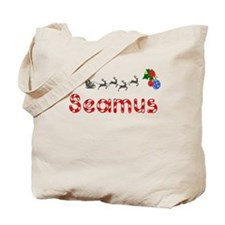 Seamus, Christmas Tote Bag
