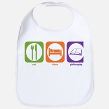 Eat Sleep Philosophy Bib