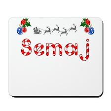 Semaj, Christmas Mousepad