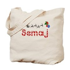 Semaj, Christmas Tote Bag