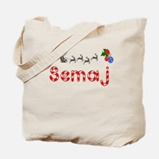 Semaj, Christmas Tote Bag