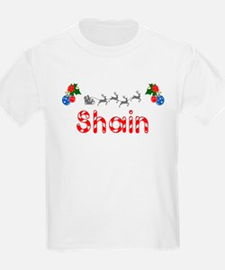 Shain, Christmas T-Shirt