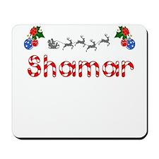 Shamar, Christmas Mousepad