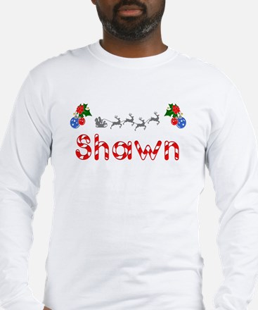 Shawn, Christmas Long Sleeve T-Shirt