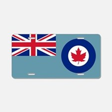 Flag RCAF 1941-1968 Aluminum License Plate