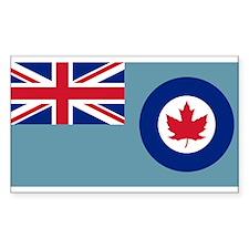 Flag RCAF 1941-1968 Decal