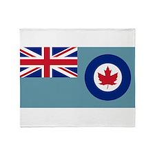 Flag RCAF 1941-1968 Throw Blanket