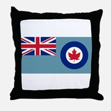 Flag RCAF 1941-1968 Throw Pillow