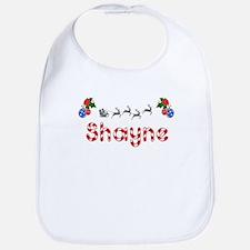 Shayne, Christmas Bib