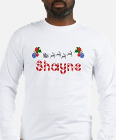 Shayne, Christmas Long Sleeve T-Shirt
