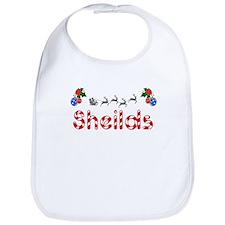 Sheilds, Christmas Bib
