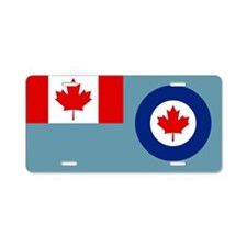 Royal Canadian Air Force Ensign Aluminum License P