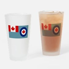 Royal Canadian Air Force Ensign Drinking Glass