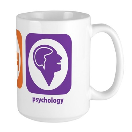 Eat Sleep Psychology Large Mug