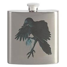 Light Raven Transparent Flask