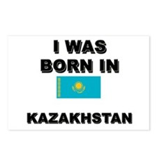 I Was Born In Kazakhstan Postcards (Package of 8)