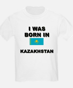 I Was Born In Kazakhstan Kids T-Shirt