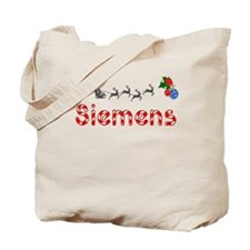 Siemens, Christmas Tote Bag