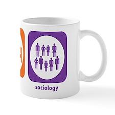 Eat Sleep Sociology Small Mugs