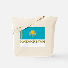 Kazakhstan Flag Stuff Tote Bag
