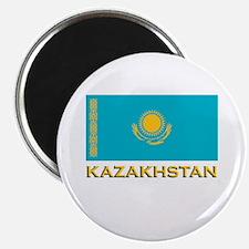 Kazakhstan Flag Stuff Magnet
