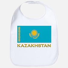 Kazakhstan Flag Stuff Bib