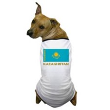 Kazakhstan Flag Stuff Dog T-Shirt