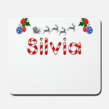Silvia, Christmas Mousepad