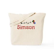 Simeon, Christmas Tote Bag