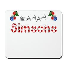 Simeone, Christmas Mousepad