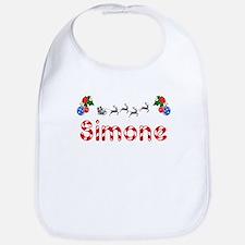 Simone, Christmas Bib